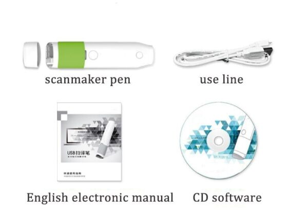 Scan Marker Pen Intelligent Automatic Scanning Pen Scan Marker Text Recognition Pen Scanner 4