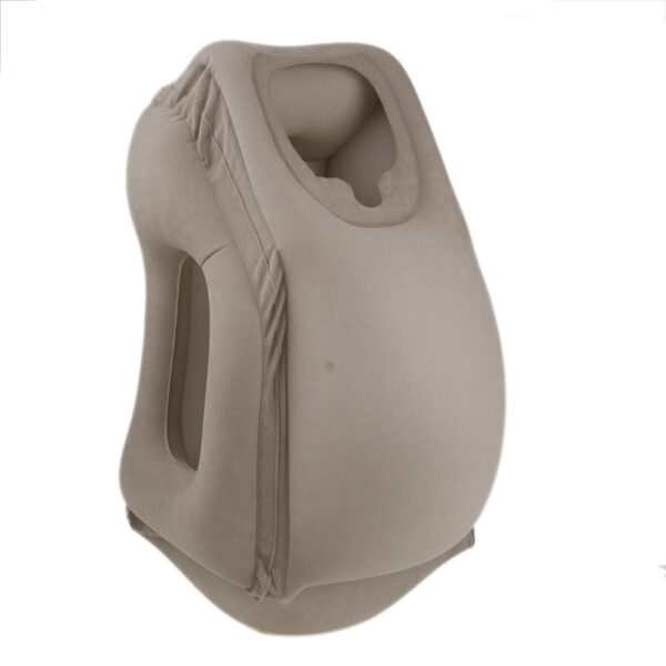 Travel pillow Inflatable pillows air soft cushion trip portable innovative products body back support Foldable blow 1