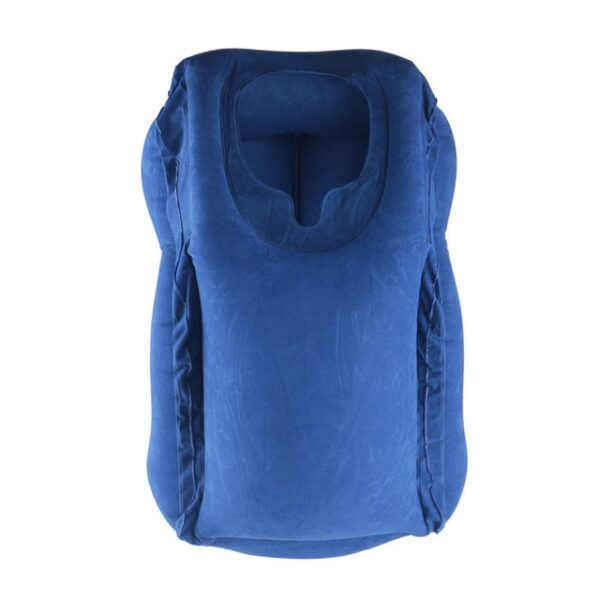 Travel pillow Inflatable pillows air soft cushion trip portable innovative products body back support Foldable blow 1.jpg 640x640 1