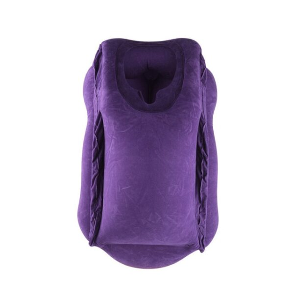 Travel pillow Inflatable pillows air soft cushion trip portable innovative products body back support Foldable blow 2.jpg 640x640 2
