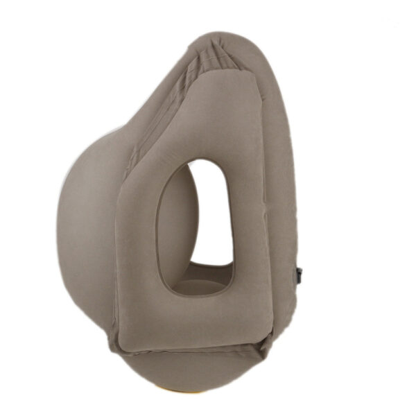 Travel pillow Inflatable pillows air soft cushion trip portable innovative products body back support Foldable blow 3