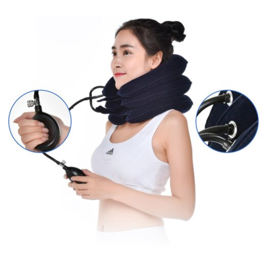 Inflatable Massage Neck/Cervical Traction Pillow, Inflatable Massage Neck/Cervical Traction Pillow