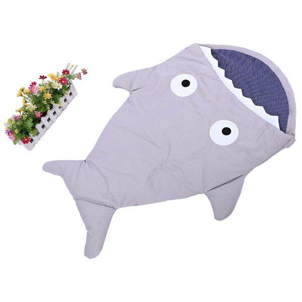 Warm Baby Sleeping Bag Soft Cotton Thick Blanket Winter Sweet Cartoon Shark Babies Newborn Infant Kids 1.jpg 640x640 1