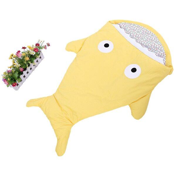 Warm Baby Sleeping Bag Soft Cotton Thick Blanket Winter Sweet Cartoon Shark Babies Newborn Infant Kids 3.jpg 640x640 3