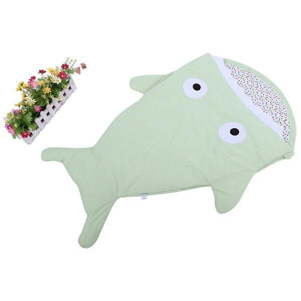 Warm Baby Sleeping Bag Soft Cotton Thick Blanket Winter Sweet Cartoon Shark Babies Newborn Infant Kids 4.jpg 640x640 4