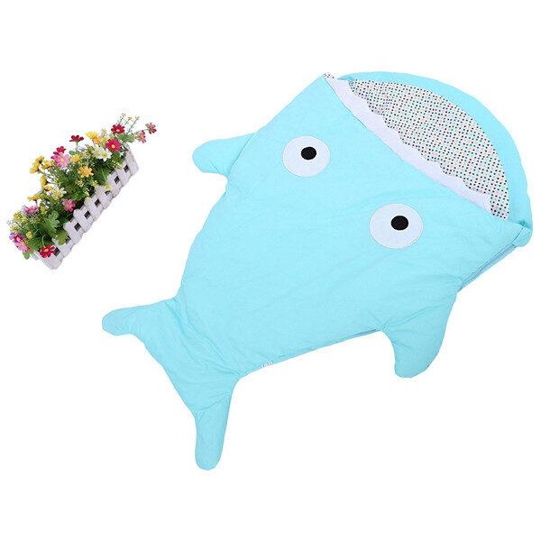 Warm Baby Sleeping Bag Soft Cotton Thick Blanket Winter Sweet Cartoon Shark Babies Newborn Infant Kids 5.jpg 640x640 5