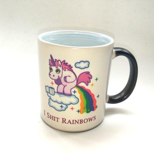 unicorn mugs rainbow mug novelty coffee tea heat sensitive mug changing color magic mug best gift 5