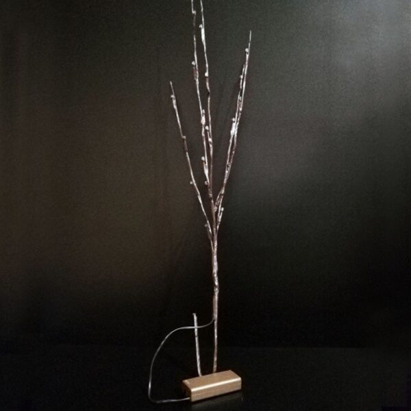 20 LED Branch Lights Fairy Decorative Night Light Willow Twig Lighted Branch Lamp Luminous Home Room 3