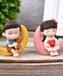 Moon couple, Moon Couple Decorative Ornaments