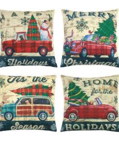 Pillow Case, Christmas Pillow Case Decorations