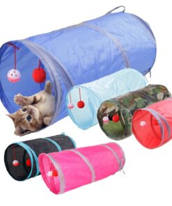 Funny Pets Play Tunnel Tubes Balls