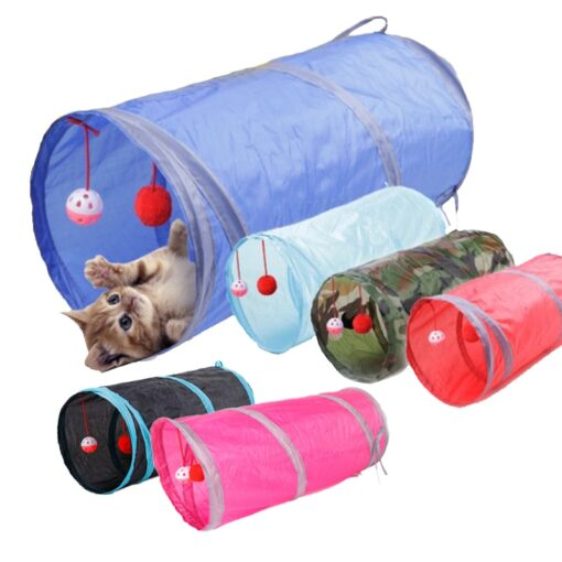 Tunnel Tubes, Funny Pets Play Tunnel Tubes Balls