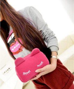 Adorable Velvet Cosmetic Bag, Adorable Velvet Cosmetic Bag