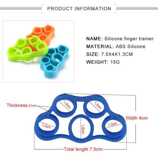 Wrist Training Stretcher Fitness Equipment, 6pcs Wrist Training Stretcher Fitness Equipment