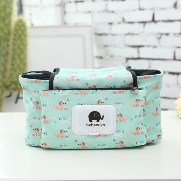 Baby Stroller Organizer Bag Mummy Diaper Bag Hook Baby Carriage Hanging Storage Bag Cartoon Folding Elephant 1.jpg 640x640 1