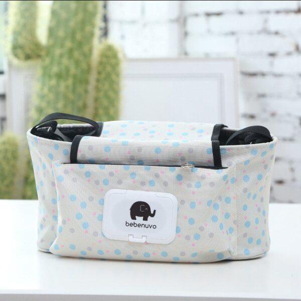 Baby Stroller Organizer Bag Mummy Diaper Bag Hook Baby Carriage Hanging Storage Bag Cartoon Folding Elephant 3.jpg 640x640 3