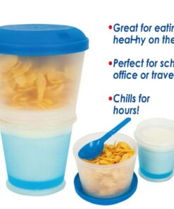 Portable Cereal Bowl, Portable Cereal Bowl