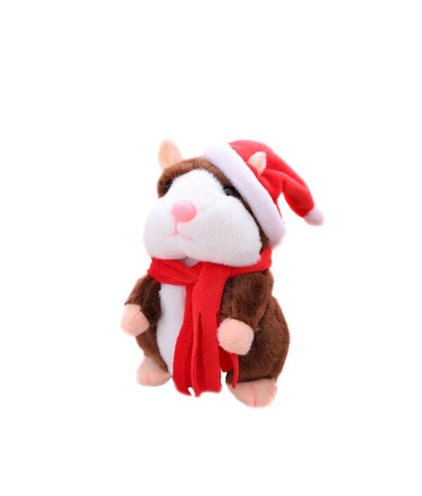 Cheeky Hamster Electric Talking Walking Pet Christmas Toy Speak Record Hamster Gift S7JN 6