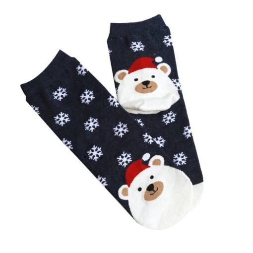 socks, Christmas Short Cotton Socks