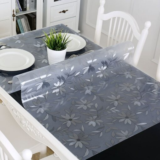 tablecloth, Waterproof Transparent Tablecloth