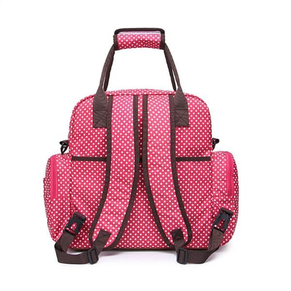 Large Diaper Bag Multi Function Nappy Bag with Nappy Changing Pad for Baby Waterproof Durable Stylish 1