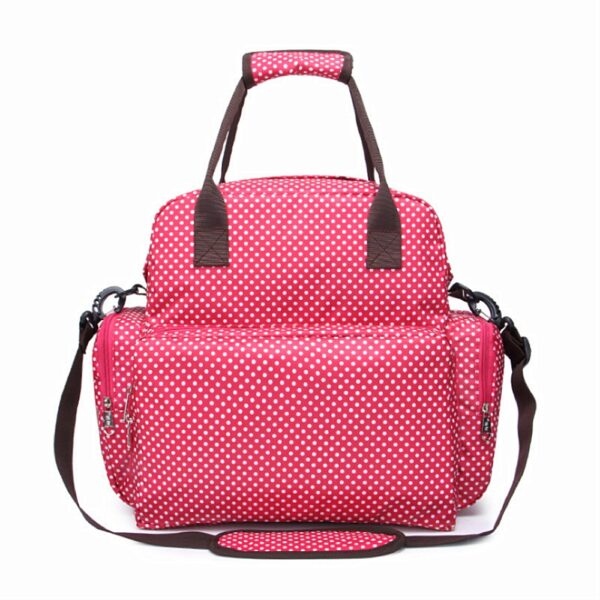 Large Diaper Bag Multi Function Nappy Bag with Nappy Changing Pad for Baby Waterproof Durable Stylish 2