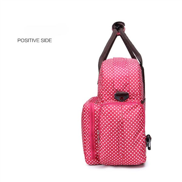 Large Diaper Bag Multi Function Nappy Bag with Nappy Changing Pad for Baby Waterproof Durable Stylish 3