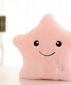 pillow, Led Light Pillow Plush Star