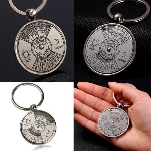 Mini Perpetual Calendar Keychain, Mini Perpetual Calendar Keychain