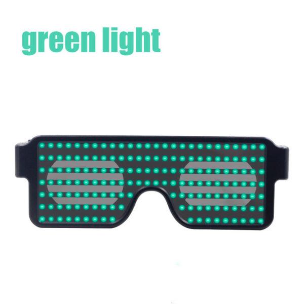 New 8 Modes Quick Flash Led Party Glasses USB charge Luminous Glasses Christmas Concert light Toys 3.jpg 640x640 3