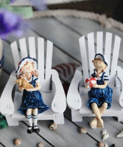 Lovers, Mediterranean Lovers Doll Wooden Craft