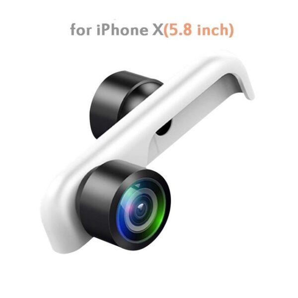 Original 360 Panoramic Camera Lens 2PCS Phone Lens For iPhone 7 X 6 6s Plus