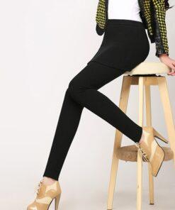 Stretch Slim Skirt Leggings