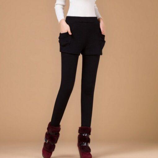 Stretch Slim Skirt Leggings, Stretch Slim Skirt Leggings