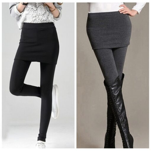 Pataas nga Slim Skirt Leggings, Pagtuyok sa Slim Skirt Leggings