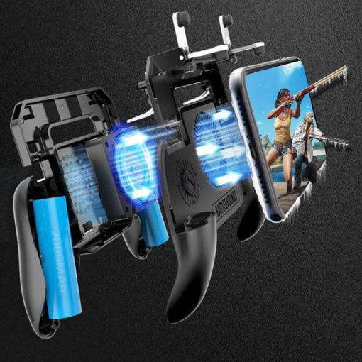 SR Mobile Gaming GamePad Cooler Cooling Fan Free Fire PUBG Mobile Game Controller PUBG Gamepad Joystick 4 510x510 1