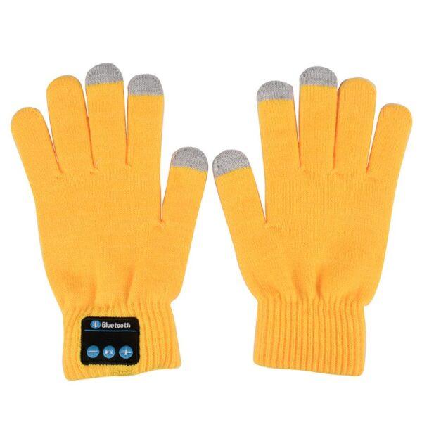 Unisex Bluetooth Gloves Women Men Winter Knit Warm Mittens Call Talking Gloves Mobile Phone Pad 4 2