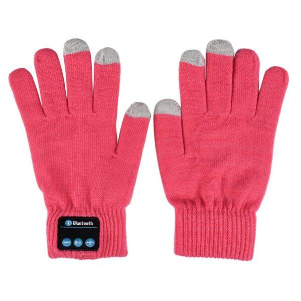 Unisex Bluetooth Gloves Women Men Winter Knit Warm Mittens Call Talking Gloves Mobile Phone Pad 4 3