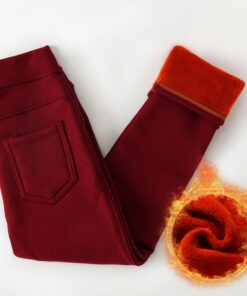 Pants, Winter Kids Thicken Warm Long Pants