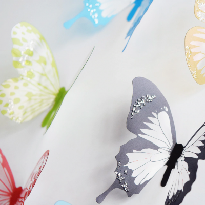 Wall Sticker Beautiful Butterflies, Wall Sticker Beautiful Butterflies