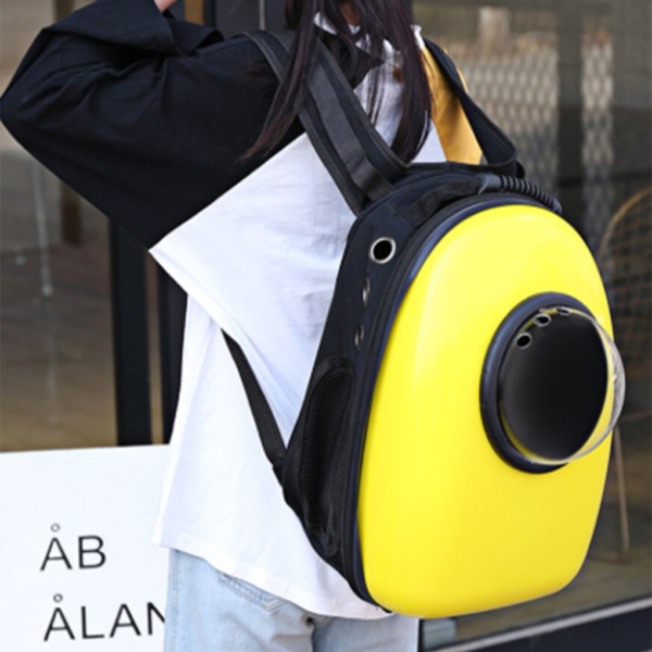 Space Capsule Shaped Pet Carrier Backpack