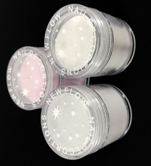 powder, Clear Pink White Acrylic Powder