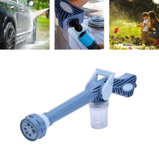 High Pressure Water Hose, 8 in 1 High-Pressure Water Hose