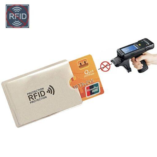 Anti Rfid Bank Card Case, Anti Rfid Bank Card Case