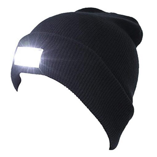 LED Lighted Cap, Warm Outdoor LED Lighted Cap