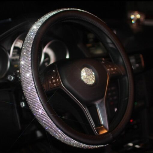 Swarovski Crystal Steering Wheel Cover, Swarovski Crystal Steering Wheel Cover