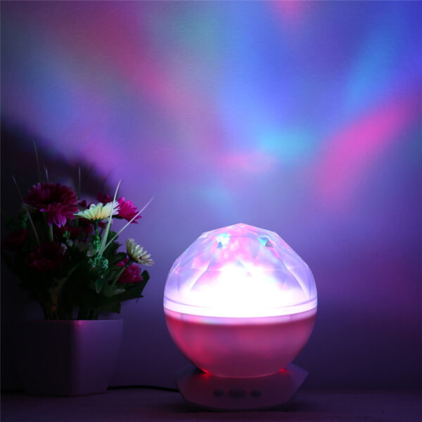 Color Changing Led Night Light Lamp Realistic Aurora Star Borealis Projector Perfect for Children and Adults 4