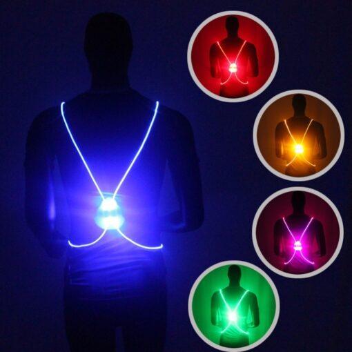 LED Safety Vest, LED Safety Vest