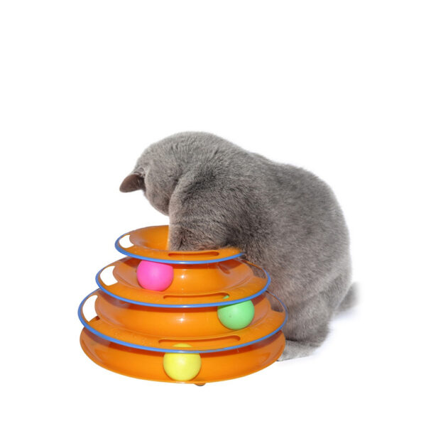 Tower Tracks Cat Toy