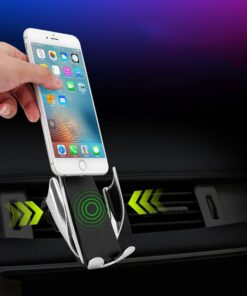 Wireless Car Charger Mount, Automatic Clamping Wireless Car Charger Mount